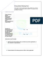 Defradar_Privacy Notice Planning Form.docx