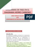 diagramas de fase en el diagrama hierro carbono