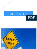 Safety Needs (AP)