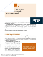 Memória (2a. Ed.) ---- (6 Evocação Extinção e Reconsolidação Das Memórias)