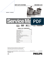 Philips MCD 900 Service Manual