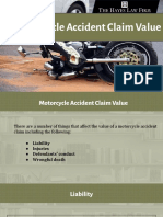 Motorcycle Accident Claim Value