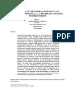(Almario & Galindo, 2009) Principales emociones asociadas a  la conducta prosocial y altruista en jóvenes universitarios
