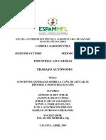 Trabajo de Investigacion - Industrias Azucareras