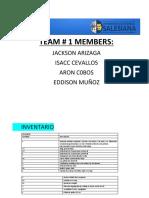 Informe de Practicas 1 y 2 Prensa y Banda