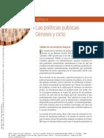 GuzmanMendozaCa 2015 Capitulo3LasPoliticas LasPoliticasPublicasC