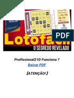 Profissional21D Funciona ? Baixar PDF 【ATENÇÃO!】