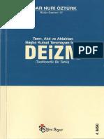 Yaşar Nuri Öztürk - Tanrı, Akıl ve Ahlaktan Başka Kutsal Tanımayan İnanç_ Deizm_ Teofilozofik Bir Tahlil.pdf