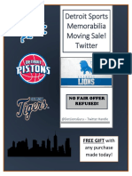 Detroit Sports Memorabilia Catalog.docx
