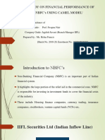 A Study on Financial Performance of Nbfc's