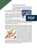 Animales prehistoricos