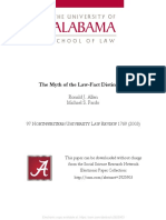 The Myth of the Law-Fact Distinction