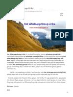 Whatsappgrouplink.in-hot Whatsapp Group Links