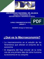 SESIÓN N° 09 MACROECONOMIA Y CUENTAS NACIONALES