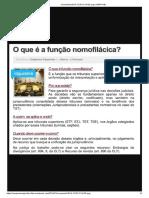 Função Nomofilacica