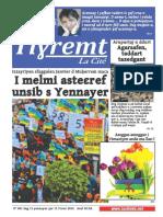 Journal Tiɣremt N°1- Janvier 2015 - Spécial Yennayer