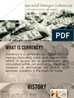 Foreign and PH Currency