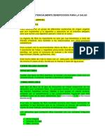 ALIMENTOS POTENCIALMENTE BENEFICIOSOS PARA LA SALUD.docx
