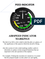 Airspeed Indicator Markings Lesson 3