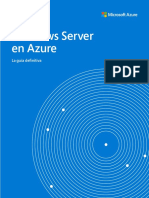 ES ES CNTNT eBook Azure Infrastructure Ultimate Guide to Windows Server on Azure