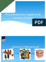 Procedimientos y Registros de Comex v2