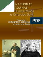 Thomasian Embodied Spirit