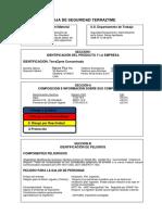 especificaciones aditivo terrazyme