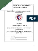 Ocn Lab Manual2017 (1) - Copy