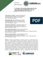 Análise Sobre o Ensino Utilizando Ferramentas de Simulação No Curso de Engenharia Civil Da Universidade Federal de Alagoas