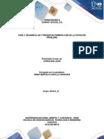 FASE 3-DIANA CASTILLO- DESARROLLAR Y PRESENTAR PRIMERA FASE DE LA SITUACIÓN PROBLEMA.docx