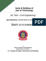 4-5-18 M_Tech Geotechnical Engg Batch 2018