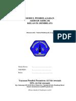 AKIDAH MTS KELAS 9.docx