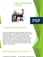 Los Beneficios de La Ergonomia en El Trabajo