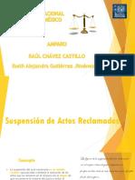 SUSPENSION DEL ACTO RECLAMADO.pptx