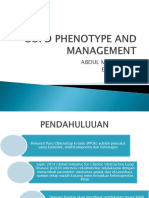 Copd Phenotype and Management Tugas Paru