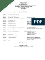 FINAL DRAFT NCR Luzon Conference Program