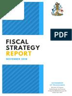 Bahamas Fiscal Strategy Report November 2018