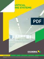 Ceiling 2018 2019 USG Boral ME Ceiling (Products Portfolio)