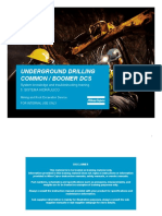 Hydraulic system and  troubleshooting S2C atlas copco