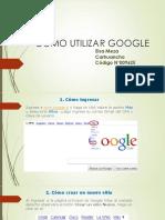 Como Utilizar Google.1pptx