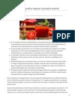 El jugo de tomate podría mejorar la presión arterial.pdf