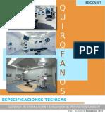 ESPECIFICACIONES TECNICAS EN QUIROFANOS
