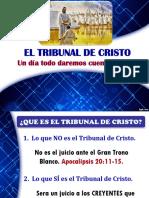 EL TRIBUNAL DE CRISTO.ppt