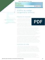 Análise de Código (Engenharia Reversa) - Forense