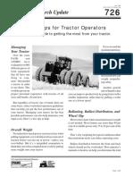 726 Nine Tips for Tractor Operators