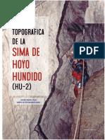 As-32-05-09 Revisión topográfica sima Hoyo Hundido