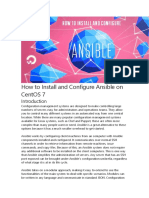 How to Install and Configure Ansible on CentOS 7