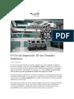 Impressão 3D Portal Fluxo Consultoria