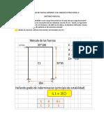 Solucionario de Parcial Número 3 de Análisis Estructural II