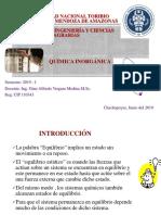 QUIMICA EQUILIBRIO QUIMICO
